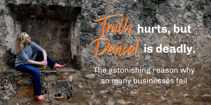 The Truth Hurts, Denial is Deadly, link to video and downloadable worksheet
