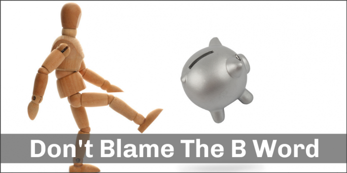 Don't Blame The B Word: 4 ways to get a BIG Bang on your Limited Innovation Budget